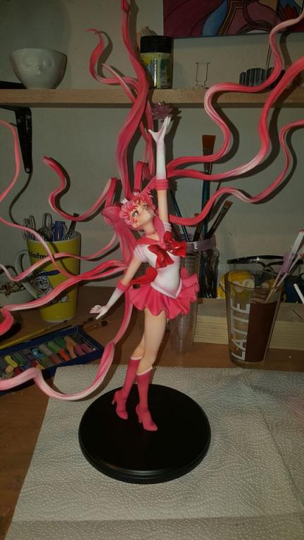 Waving Hair Chibi Moon