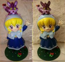 1/6  Chacha (aka Alice in wonderland with Cheshire