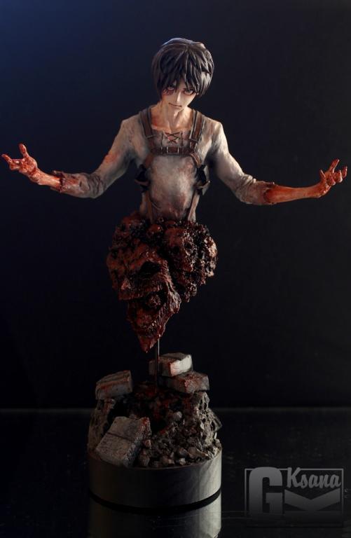 Eren Yeager Bust