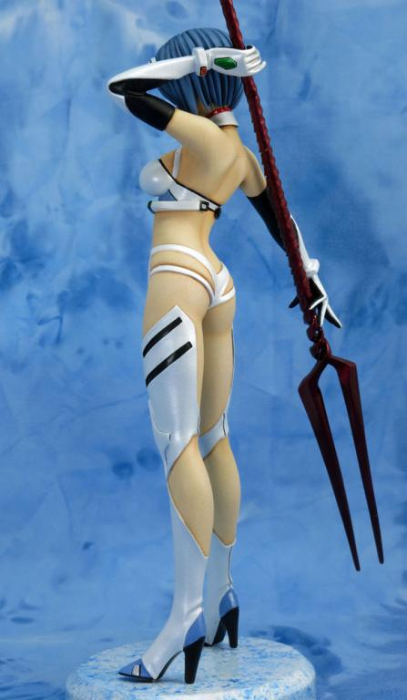 Rei Ayanami with spear