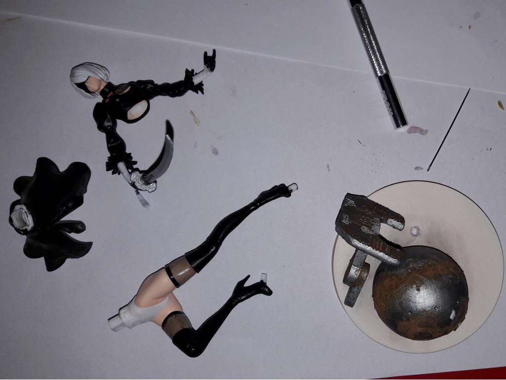 NieR:Automata - Little Lake Diorama WIP