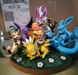 Eevee with Friends Evveelutions Pokémon