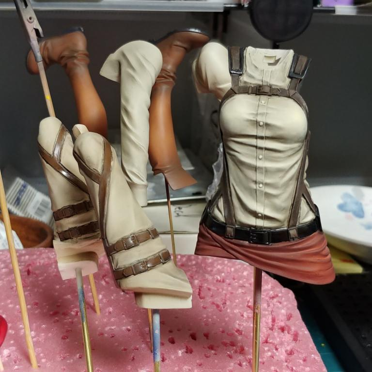 Mikasa Ackerman 1/7 (WIP)