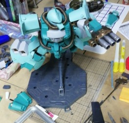 Gouf flight type covert kit para gouf custom mg