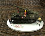 Girls und Panzer Commander Set 1/35