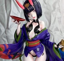 Shuten-douji with liquor