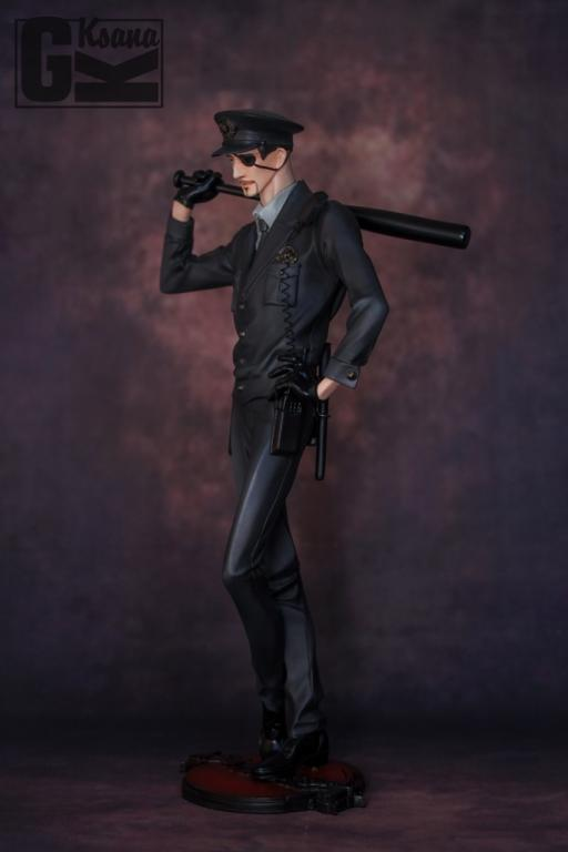 Majima Goro Police Version