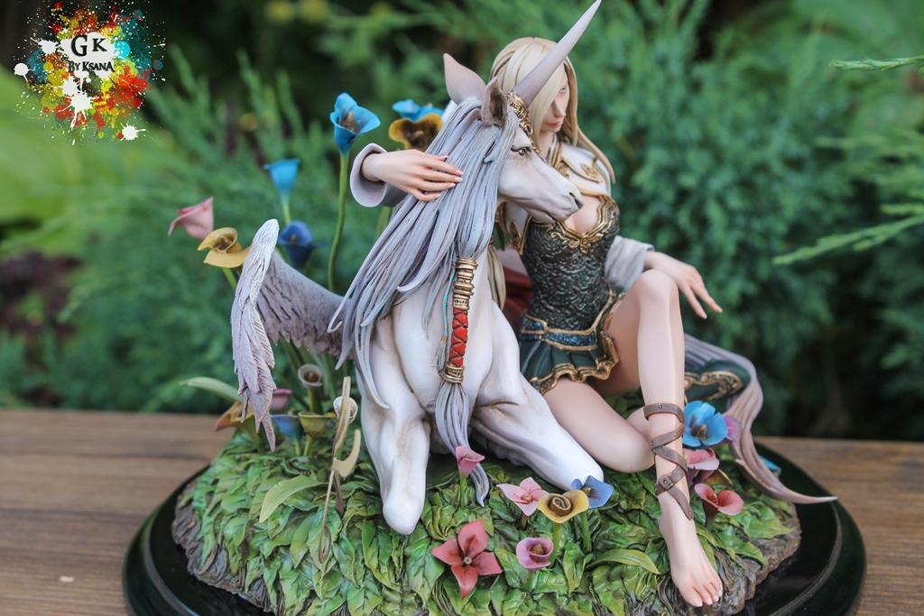 Elf & unicorn