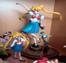 Usagi with Luna