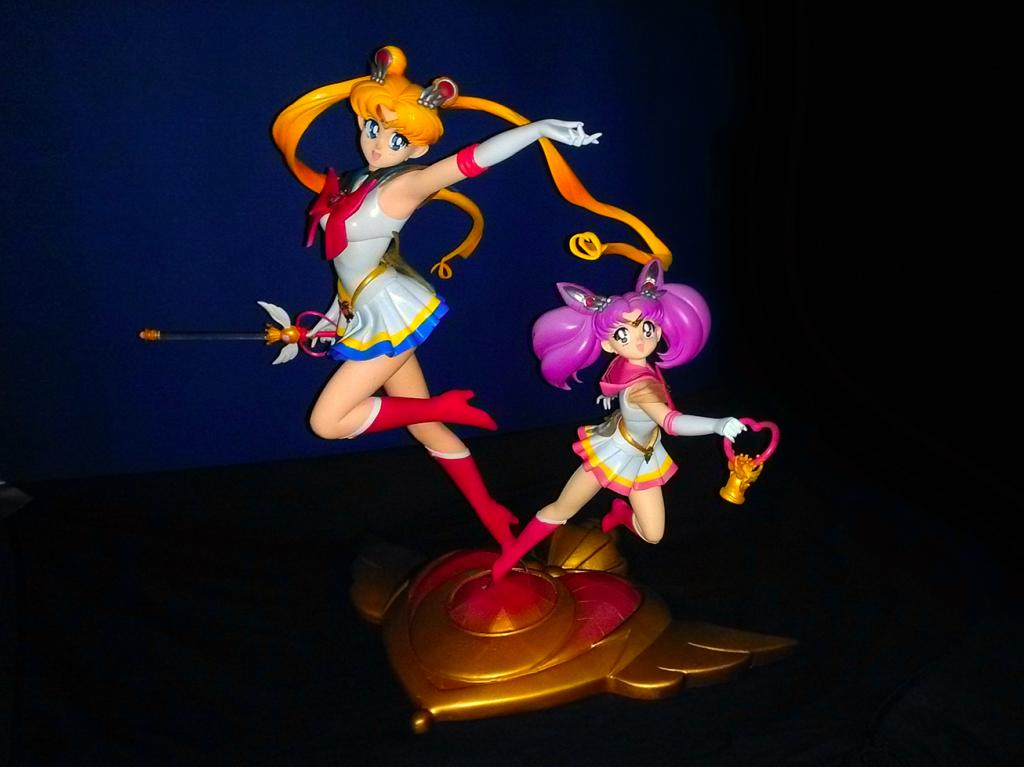 Super SailorMoon & ChibiMoon