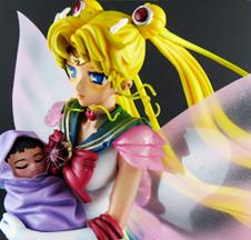 [Custom] Super Sailor Moon & Baby Hotaru