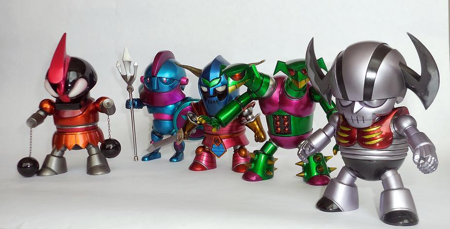Mazinger Z's Kaijus