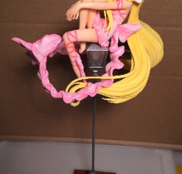 Chii on Lamp Post