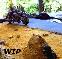 WIP Arriving at Corel Desert - Meeting Cactuar