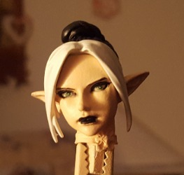 Dark Elf W.I.P  she's still in bits......