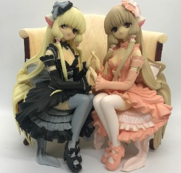 Chobits  Elda (Chii) and Freya