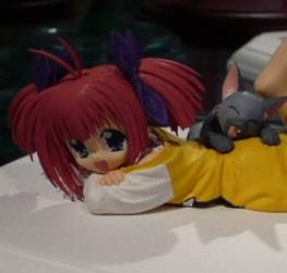 1/8 Wakabo Sakura and Lovely Cat