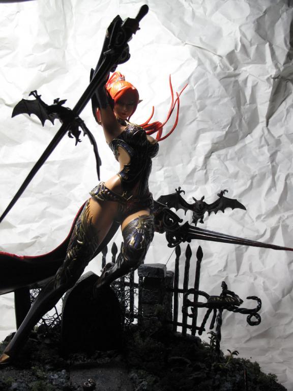 Dark Elf Combat