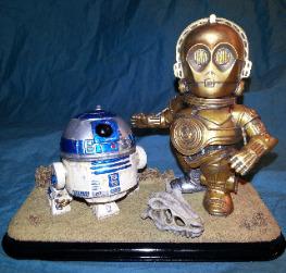 STAR WARS R2-D2 & C-3PO