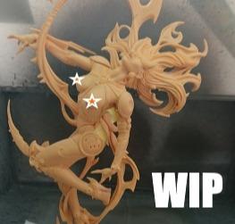WIP - the elemental fire