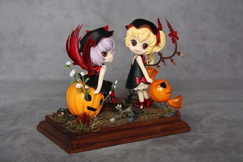 SD Frandre & Remilia Halloween Version