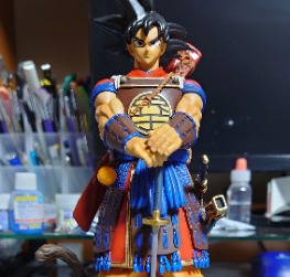 Son Goku Samurai Version