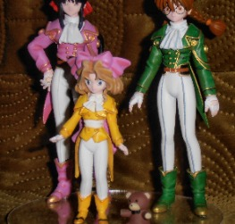 Sakura Wars 1:20 Sakura,Kohla and Iris