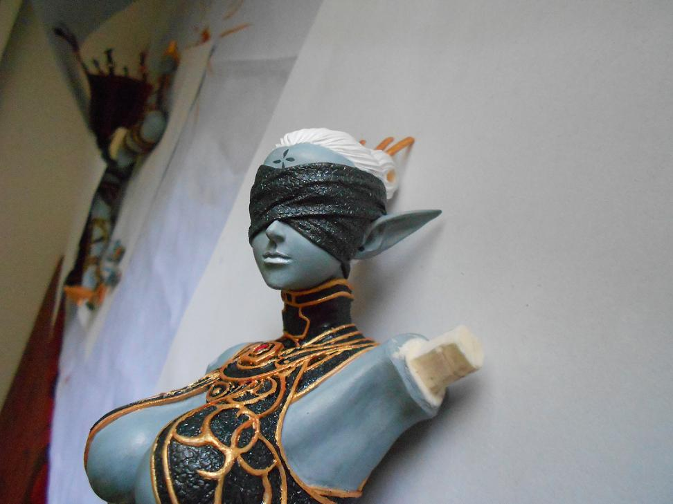 WIP Dark Elf - Dark Saint :)