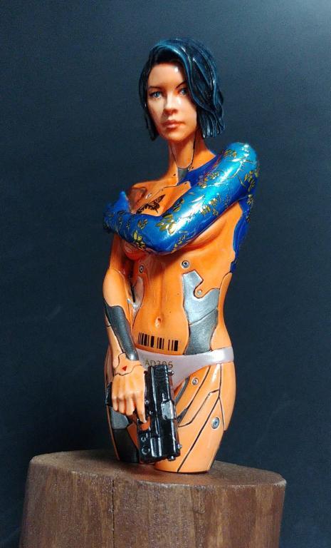 Mirai Cyborg Android Assassin 1/12
