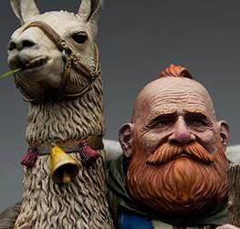 [Misc.] Dwarf & Llama
