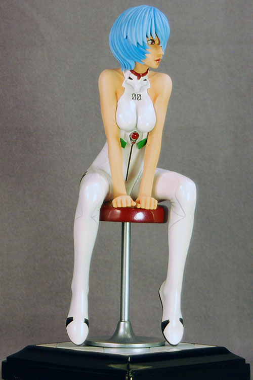 Rei Ayanami on Bar Stool