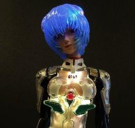 Rei Ayanami Clear Plugsuit