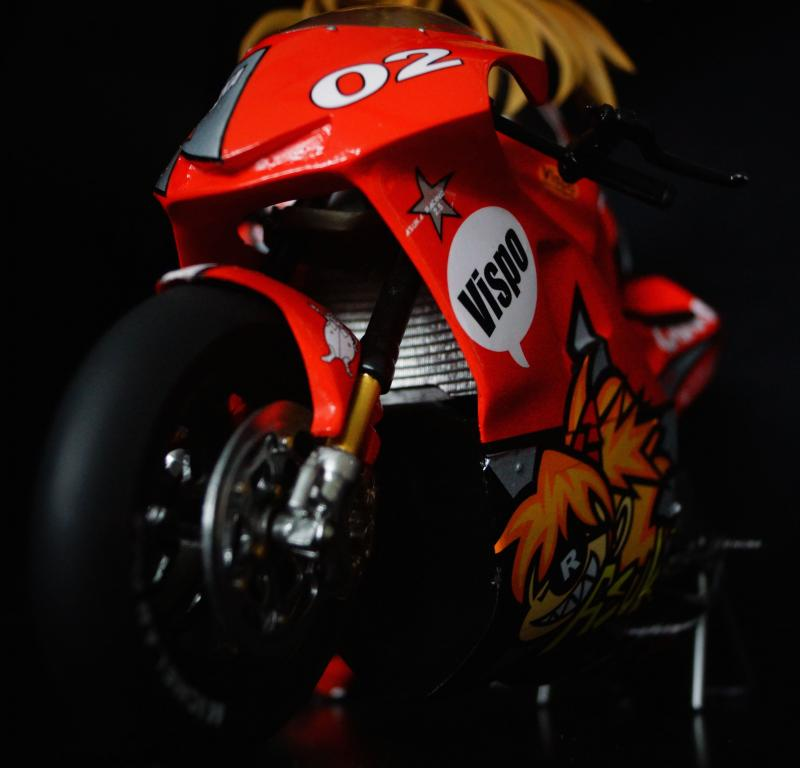 Asuka with Motorcycle