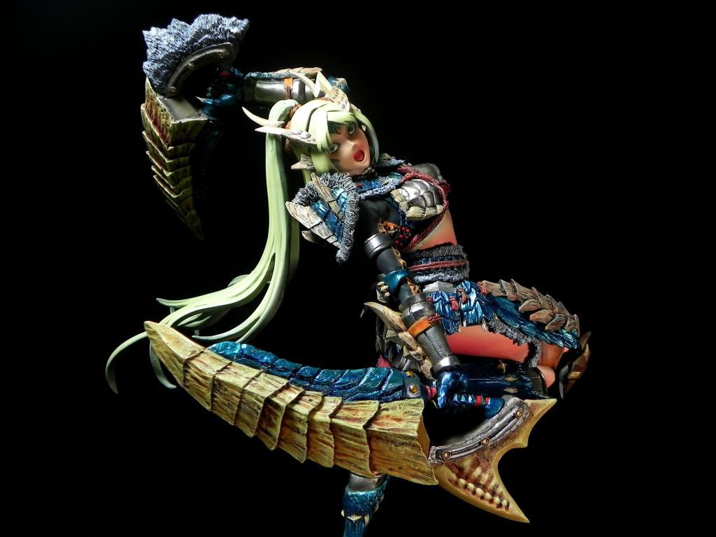 雷狼龍裝備獵人  Jinohga Armor Hunter
