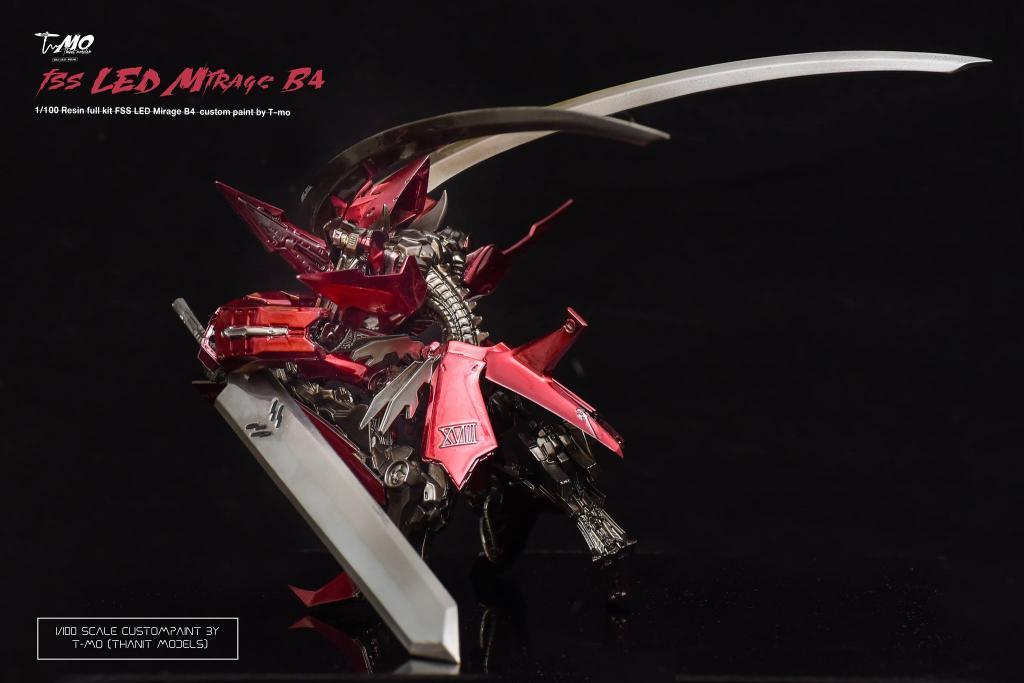 FSS LED Mirage B4 1/100 by T-mo [Thanits Models]