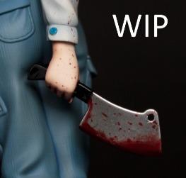 WIP Tiny Cleaver by YOKKI