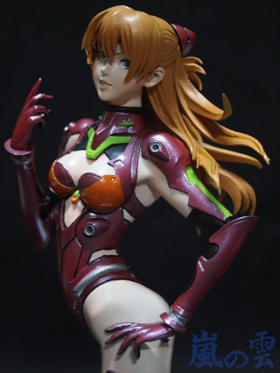 Asuka in plugsuit