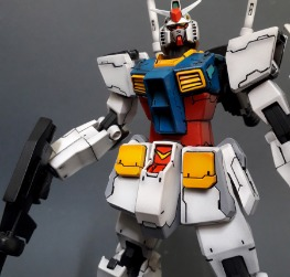 Gundam rx-78 extra-fit dress kit