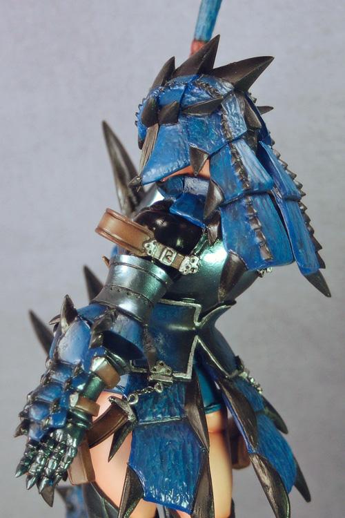Azure Rathalos Armor Hunter