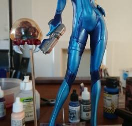 Samus Aran Zero Suit Version