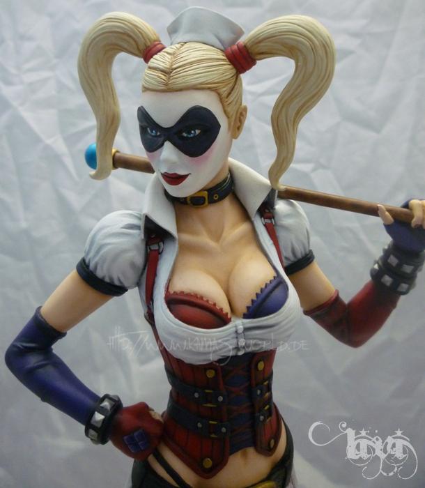 Harley Quinn Arkham Asylum Style