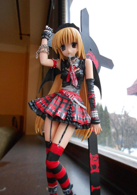 Gothic Dress Devil Girl :)
