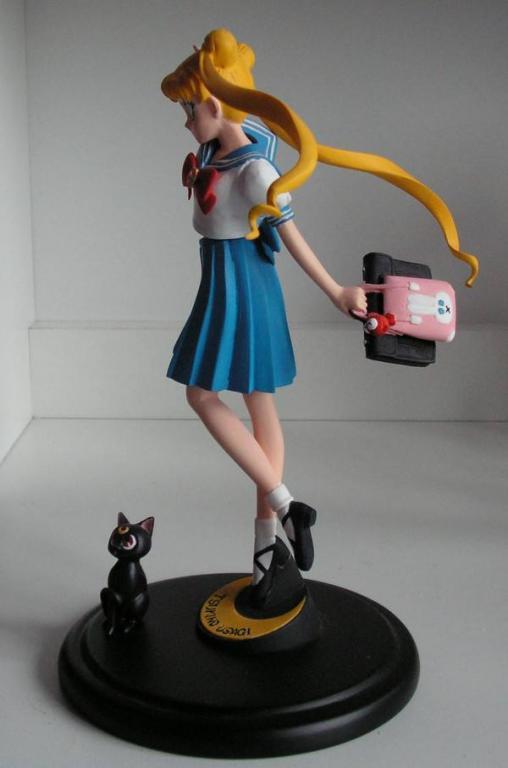 1/8 Tsukino Usagi with Luna :)
