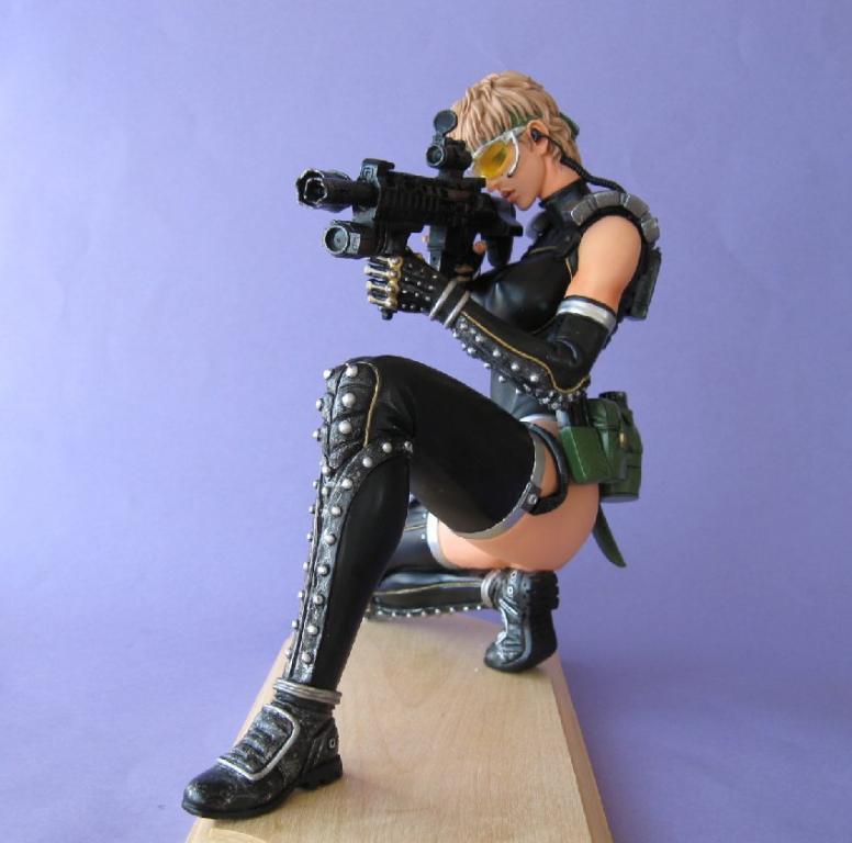 Sniper on Knees