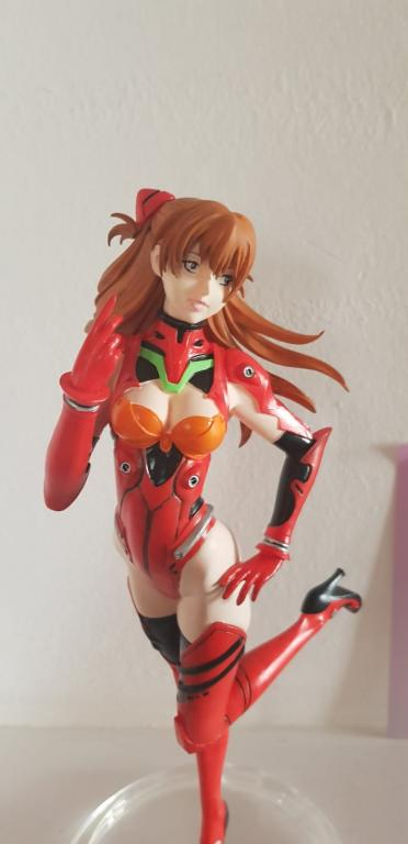 Asuka in Test Plugsuit