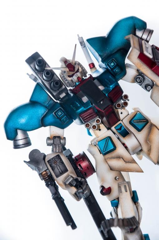 Gundam RX 78 Custom (sniper version)