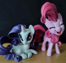 Pinkie Pie & Rarity