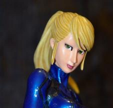 Samus Aran Zero Suit Version