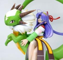 Shaorin with dragon