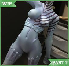 [WIP Part 2] Succubus Catherine